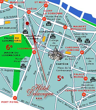 map and access how to reach us